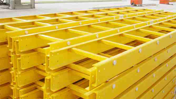 GRP Cable Trays are Manufactured