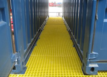 GRP molded gratings