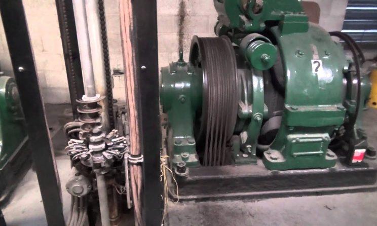 gearless elevator machines